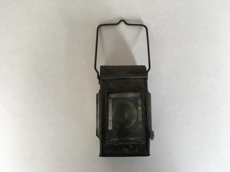 WW1 FRENCH HAND - DUG OUT LANTERN